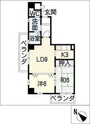 VIA 141[10階]の間取り