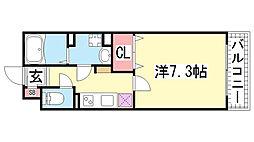 KTIレジデンス神戸元町[302号室]の間取り