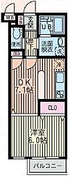 ヴェルデ柿の木坂[2階]の間取り