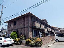 和歌山県和歌山市田尻の賃貸アパートの外観