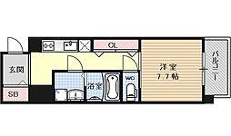 レジデンス京都ゲートシティ[301号室号室]の間取り