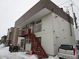 北海道札幌市北区篠路一条5丁目の賃貸アパートの外観