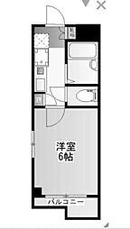 司コーポ[3階]の間取り