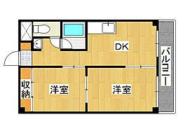 メゾンクロワール[3階]の間取り