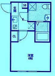 CASAR武蔵新城[2階]の間取り