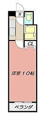 ロイヤルリージェント[12階]の間取り