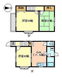 [テラスハウス] 兵庫県小野市神明町 の賃貸【兵庫県 / 小野市】の間取り