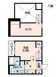 沖HOUSE[103号室号室]の間取り