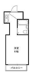 東京都練馬区大泉学園町3丁目の賃貸マンションの間取り