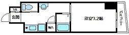 内淡路町新築マンション[6階]の間取り