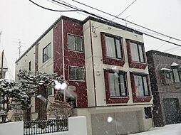 北海道札幌市東区北四十条東15丁目の賃貸アパートの外観