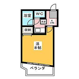 マンションビクトリー[6階]の間取り