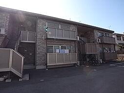 兵庫県加古川市平岡町新在家の賃貸アパートの外観