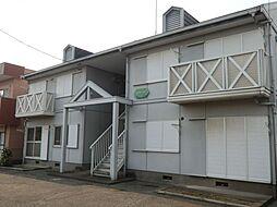 埼玉県行田市佐間1丁目の賃貸アパートの外観