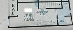 JR中央線 西荻窪駅 徒歩10分の賃貸アパート 2階1Kの間取り