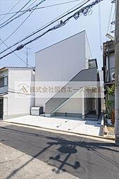 大阪府堺市堺区五条通の賃貸アパートの外観