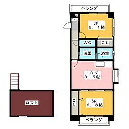 中村日赤駅 9.0万円