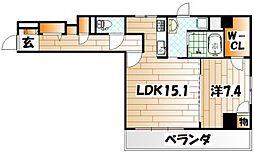 ルーヴル黄金[3階]の外観