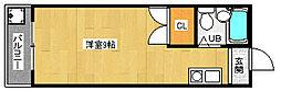 京都府京都市伏見区新町13丁目の賃貸マンションの間取り