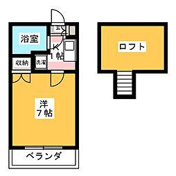 Livex前田[1階]の間取り