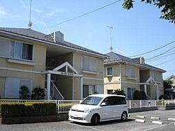 東京都あきる野市秋川2丁目の賃貸アパートの外観