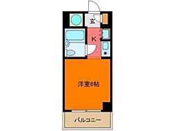 TOP立川No1[1階]の間取り