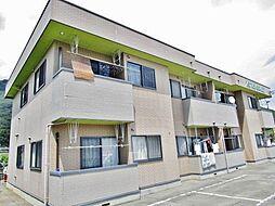 山梨県甲府市桜井町の賃貸アパートの外観