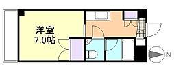 レファインド倉敷[7階]の間取り