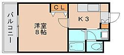 フォレストラメール[2階]の間取り
