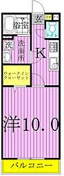 アムール長崎 I・II[2-103号室]の間取り