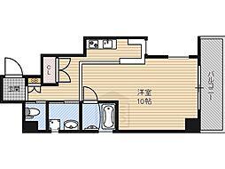 アスティオン都島[2階]の間取り