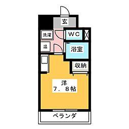 英和マンション龍禅寺[5階]の間取り