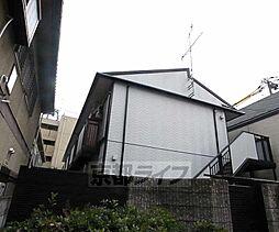 京都府京都市東山区古門前通大和大路東入石橋町の賃貸アパートの外観