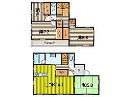 [一戸建] 埼玉県さいたま市南区南浦和1丁目 の賃貸【/】の間取り