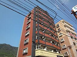 福岡県宗像市赤間文教町の賃貸マンションの外観
