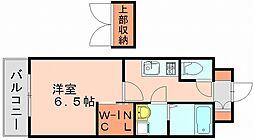 エンクレスト博多駅東[10階]の間取り