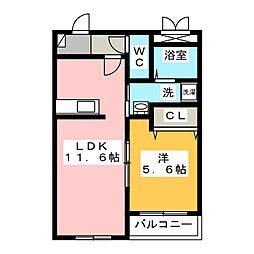 美乃坂本駅 5.1万円
