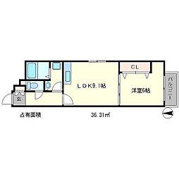NOI 1st[3階]の間取り