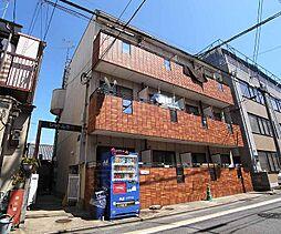 京都府京都市南区西九条東比永城町の賃貸マンションの外観