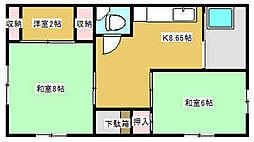 [一戸建] 東京都江東区大島2丁目 の賃貸【東京都 / 江東区】の間取り
