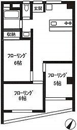 第一岩田ビル[5階]の間取り