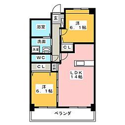 Shangri-La[2階]の間取り