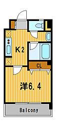 神奈川県横浜市戸塚区川上町の賃貸マンションの間取り