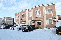 北海道札幌市白石区北郷二条4丁目の賃貸アパートの外観