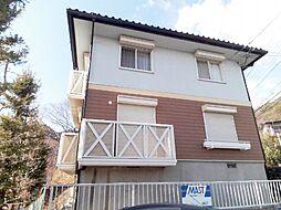 兵庫県芦屋市奥山の賃貸アパートの外観