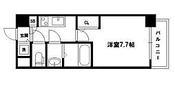 S-RESIDENCE新大阪駅前[12階]の間取り