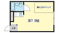 リバティ今宿[305号室]の間取り