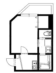仮)矢口1丁目アパート[103kk号室]の間取り