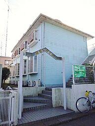 千葉県流山市江戸川台東4丁目の賃貸アパートの外観