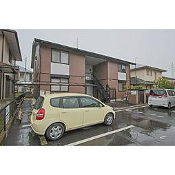 岡山県岡山市中区山崎の賃貸アパートの外観